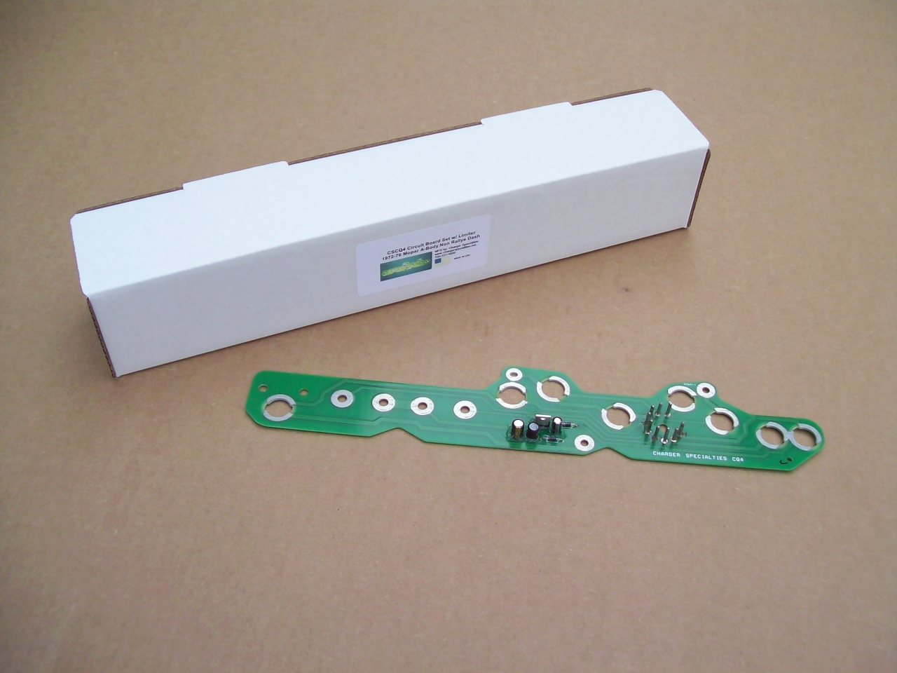 1967 - 1975 Dodge Plymouth A-Body Non-Rallye dash CIRCUIT BOARD