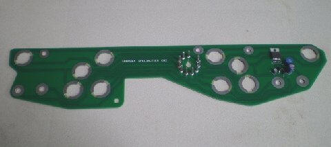 68-70 B BODY NON RALLY DASH CIRCUIT BOARD WITH BUILT IN LIMITER