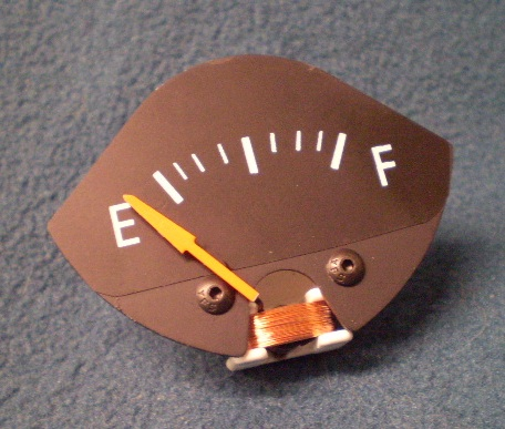 70-74 E-BODY RALLYE FUEL GAUGE