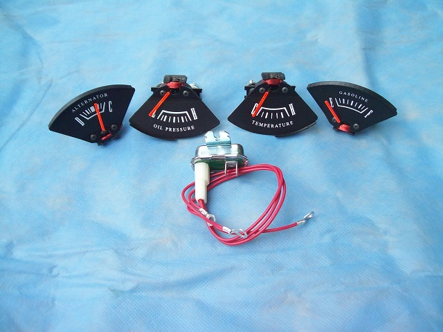 67-71 A BODY RALLYE DASH GAUGE SET